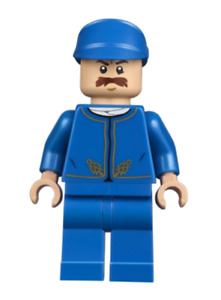 Lego Bespin Guard 75222 Detailed Gold Trim, Moustache Star Wars Minifigure