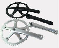 Aluminum Fixed Gear Crankset 7075 Single Speed Track Bike 144BCD 49T 170mm crank