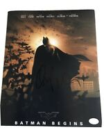 "Christian Bale Autographed ""Batman Begins"" Movie 8 X 10 Photo COA Certified"