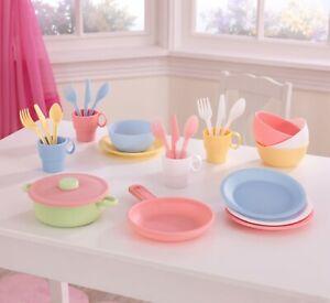 27-Piece Pastel Cookware Playset by Kidkraft