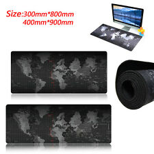 Large World Map Game Mouse Pad Mat Laptop Gaming Mousepad Rubber Mouse Pads UK