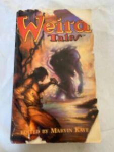 Weird Tales Livre de Poche Stories Edité Par Marvin Kaye 1996 Barnes & Nobles