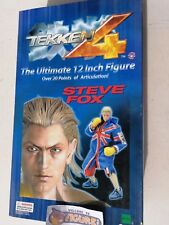 Namco's TEKKEN 4 12'' STEVE FOX figure with real cloth outfit by EPOCH