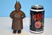 """""""Aunt Jemima"""" or """"Mammy with Spoon"""" Antique Cast Iron Still Bank A.C. Williams"""