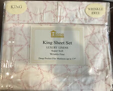 Home American Collection Premium 4-Piece Printed Sheet Set - Wrinkle Free LUXURY