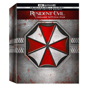 RESIDENT EVIL Collection - 4K Ultra HD (Box 12 Blu-ray)