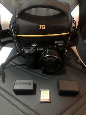 Sony a6000 Mirrorless Digital Camera w/ 16-50mm Lens & Accessory Kit (Black)