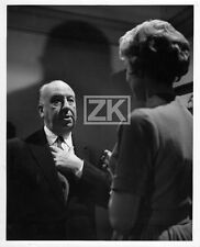 ALFRED HITCHCOCK Janet LEIGH Psychose PSYCHO Tournage W. CREAMER Photo 1960