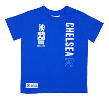 Official Chelsea FC Football T Shirt Kids 4 5 Years Boys CHT47