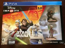 DISNEY INFINITY STAR WARS 3.0 VIDEO GAME STARTER PACK for PS4 BRAND NEW IN BOX