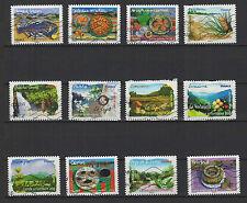 FRANCE 2009/10 flore et saveurs de nos régions 12 Timbres oblitérés /T1120