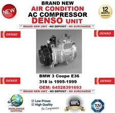 DENSO AIR CONDIZIONE AC Compressore BMW 3 COUPE E36 318 è 1995-1999 645283916 93