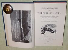 HTF 1868 TRAVEL AND ADVENTURE IN ALASKA Frederick Whymper HC Book 1966 Facsimile