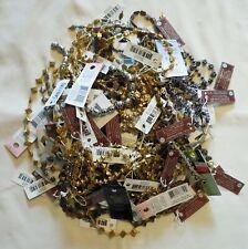 HUGE Lot of Metal Stringed Beads ~ Jewelry Making Strings ~ Bead Gallery, B&B