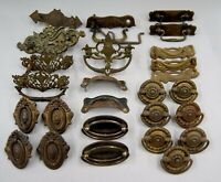 Large Lot of Antique Eastlake/Victorian Drawer Pulls & Other Hardware, L-3578