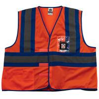 Ergodyne GloWear 8126HL Hi-Vis Reflective Safety Vest, S/M, ANSI Type O/Class 1