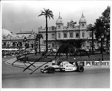 Riccardo Patrese SIGNED Original Press  Williams-Renault FW14B  Monaco GP 1992