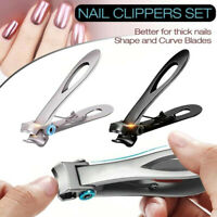 UK Extra Large Toe Nail Clippers For Thick Nails Heavy Duty Professional Tool!!!