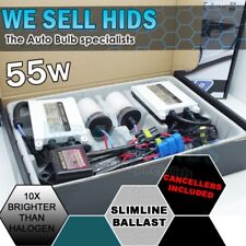 CANBUS ERROR FREE 55W SLIM Ballast HID XENON CONVERSION KIT H7 8000K 50W Metal