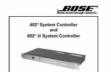 BOSE 402 402 II 802 II 802 III SYSTEM CONTROLLER SERVICE MANUAL PRINTED ENGLISH