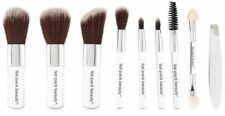 "MICRO BEAUTY MINI POCKET 10 PC BRUSH SET - Portable Compact 3"" Brushes"