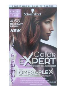 SCHWARZKOPF Colour Expert Hair Colour, Mahogany Brown, 232 g