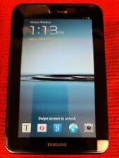 Samsung Galaxy Tab 2 7.0 SCH-I705 8GB, Wi-Fi + 4G (Verizon), 7in - Black