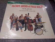 "Nick Dean ""The New Sound of Folk-Dixie"" SEALED NM DIXIELAND LP W/HYPE Sticker"