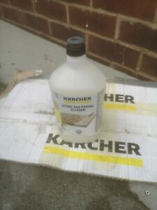Karcher Stone and Paving Cleaner 1Ltr 3in1 clea. Care&protect fit to k4. K5. K7