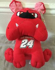"2016 Sugar Loaf NASCAR #24 (Jeff Gordon) Red Bulldog 11"" Kelly Toy Plush Toy"