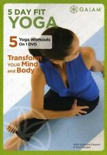 Yoga Exercise DVD - 5 DAY FIT YOGA - 5 workouts