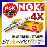 KIT 4 CANDELE NGK SPARK PLUG CR9E KAWASAKI ZX 6 R Ninja 636 2005