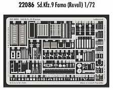 Eduard 1/72 Sd.Kfz.9 Famo etch for Revell kit # 22086