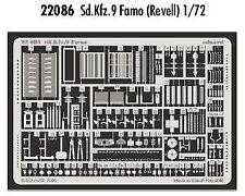 Eduard 1/72 Sd.Kfz.9 FAMO Etch per Revell kit # 22086