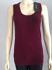 Dolce and Gabbana , AUTHENTIC, 100% CASHMERE BURGUNDY TOP