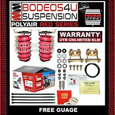 POLYAIR AIR BAG SUSPENSION KIT SUITS FORD RANGER PX 4WD (2012 & UP) PART# 75500