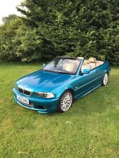 BMW E46 330ci Convertible M Sport Individual Rare Colour Atlantis Blue