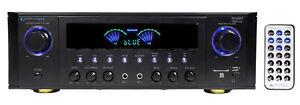 Technical Pro RX45BT Hybrid Pro Amplifier Receiver w/Bluetooth USB/SD+Remote