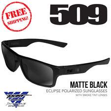 509 Eclipse Polarized Sunglasses Matte Black w/ Smoke Tint Lens 509-SUN-ECL-8MP