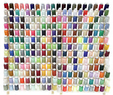 Huge Set of 260 Spools Embroidery Machine Thread - All Different Colors