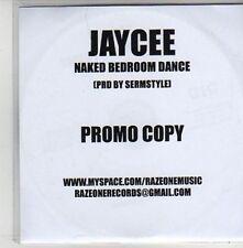 (AQ952) Jaycee, Naked Bedroom Dance - DJ CD