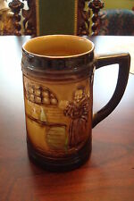 "Moriyama hand painted in Japan Beer Stein decorated with a monk, 5 1/2""T[*4]"
