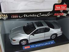 CHEVROLET MONTE CARLO SS 2000 Gris SUNSTAR 1/18