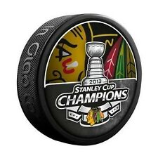 Chicago Blackhawks 2013 NHL Stanley Cup Champions Hockey Puck