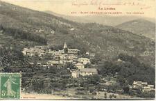 SAINT-GERMAIN-DE-CALBERTE 436 vue générale écrite 1913