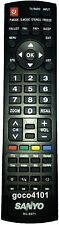 RC-S071 GENUINE SANYO REMOTE CONTROL RCS071 REPLACE RCS076 RC-S076 LCD40XR10F