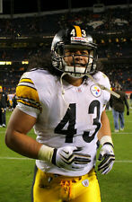 TROY POLAMALU PITTSBURGH STEELERS STRONG SAFETY NFL POSTER