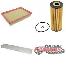 FilterSet (M): 1x Innenraumfilter, 1x Luftfilter, 1x Ölfilter