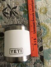 YETI 10 oz Mug Stainless Steel Vacuum Insulated Cup W/Lid euc