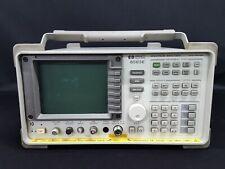 HP_8563E:  Spectrum Analyzer, 26.5GHz <W/Opt. 006 007 85620A> (0382)